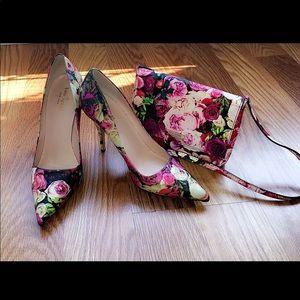 Kate spade heels and purse